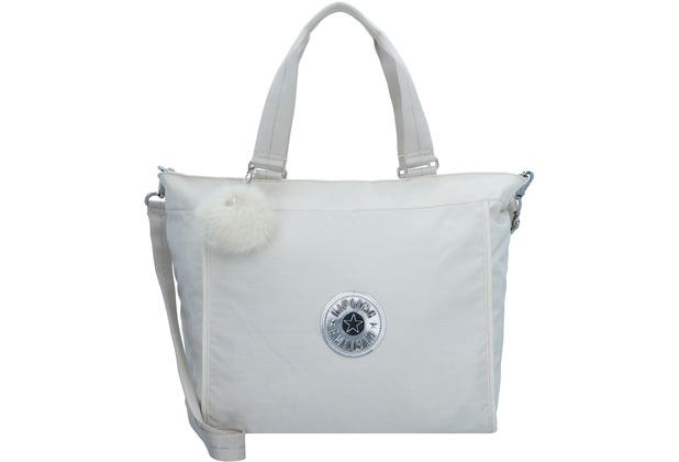 Kipling Basic Plus New Schultertasche 46 cm dazz white