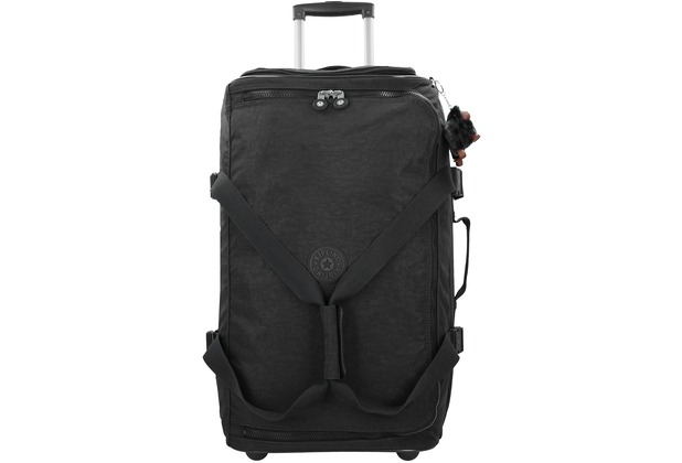 Kipling Basic Travel 15 Teagan M 2-Rollen Reisetasche 66 cm true black