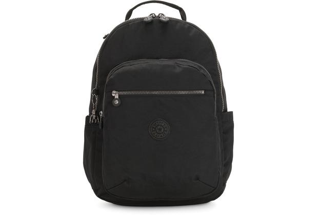Kipling Classics Seoul Rucksack 44 cm Laptopfach rich black