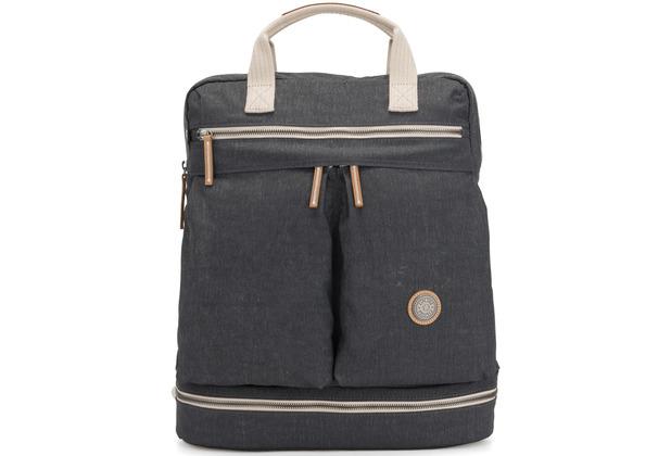 Kipling Edgeland Plus Komori Rucksack 43 cm Laptopfach casual grey