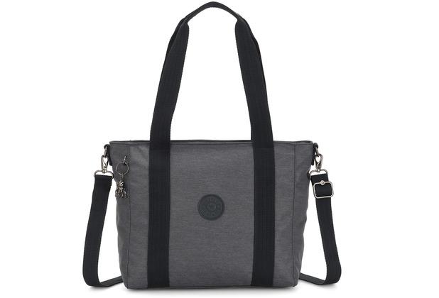 Kipling Peppery Asseni S Shopper Tasche 40 cm charcoal
