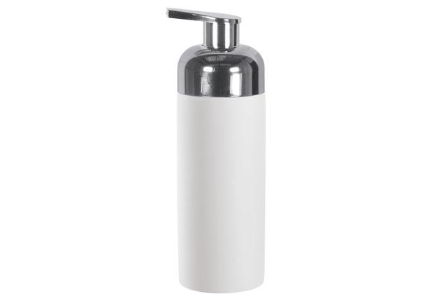 Kleine Wolke Accessoires Schaumseifenspender Pur, weiß 5,5 x 16,5 cm