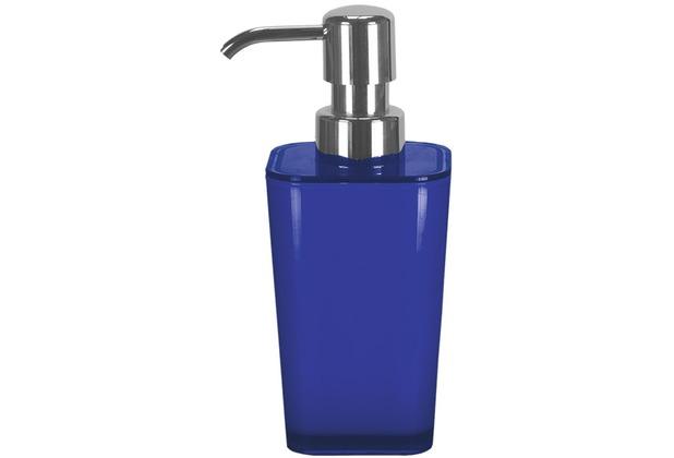 Kleine Wolke Accessoires Seifenspender Easy, Kobaltblau 17,5 x 7 cm