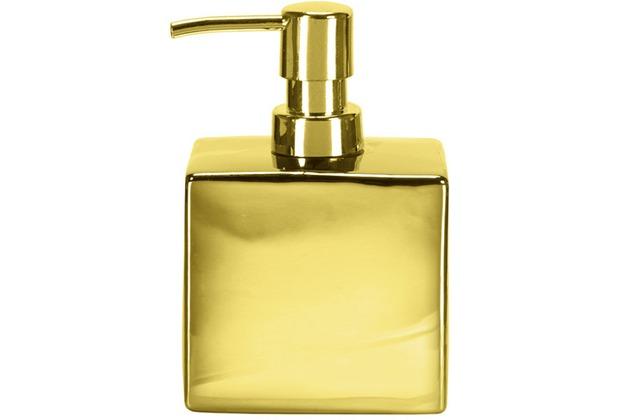 Kleine Wolke Accessoires Seifenspender Glamour, Gold 15 x 10 cm