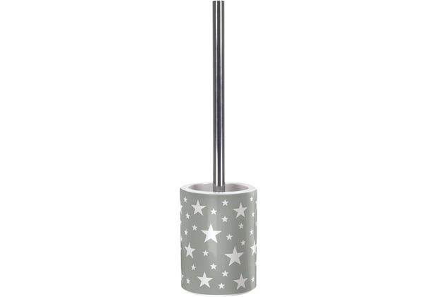 Kleine Wolke Accessoires WC-Bürstenhalter Nova, Platin 11 x 42 cm