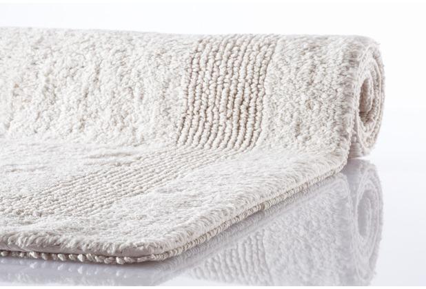 Kleine Wolke Badteppich Arizona Silbergrau 47 cm x 50 cm Deckelbezug