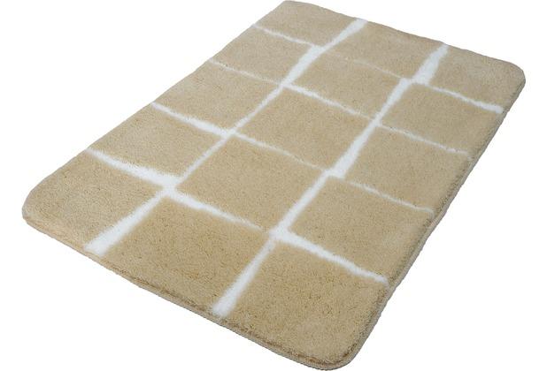 Kleine Wolke Badteppich Carat, Macadamia 55x 60 cm