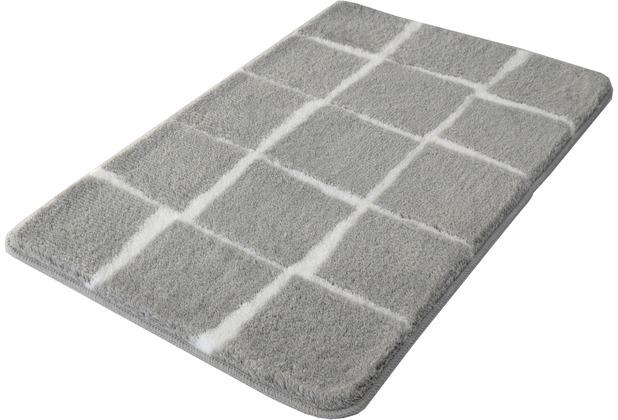 Kleine Wolke Badteppich Carat, Nebel 55x 60 cm