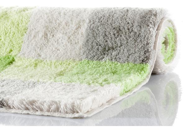 Kleine Wolke Badteppich Caro Distel 55 cm x 55 cm WC-Vorleger mit Ausschnitt