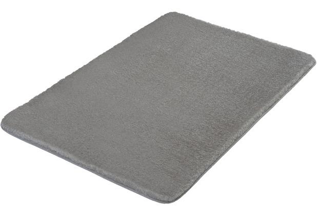 Kleine Wolke Badteppich Cecil Silbergrau 50x 60 cm