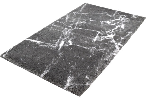 Kleine Wolke Badteppich Como Platin 60 x 60 cm