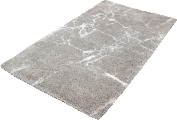 Kleine Wolke Badteppich Como Silbergrau 60 x 60 cm