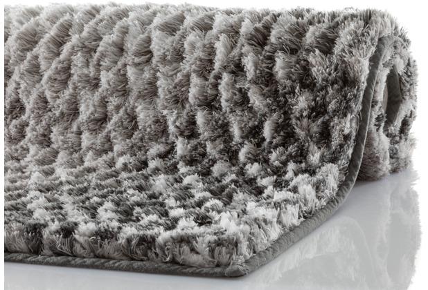 Kleine Wolke Badteppich Cory Anthrazit 60x100 cm