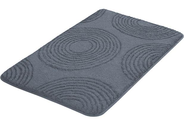 Kleine Wolke Badteppich Cosima Anthrazit 55x 65 cm