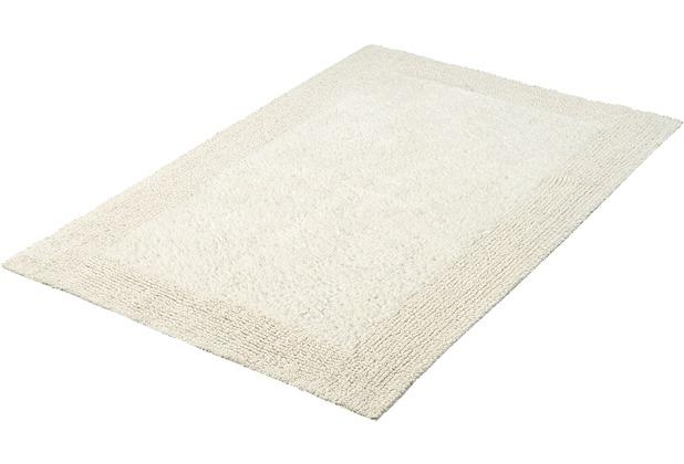 Kleine Wolke Badteppich Cotone Natur 50 cm x 50 cm WC-Vorleger ohne Ausschnitt