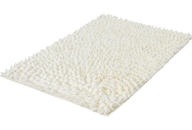 Kleine Wolke Badteppich Falbala Weiß 60 cm x 90 cm