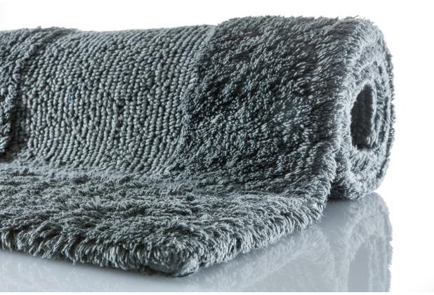 Kleine Wolke Badteppich Havanna Schiefer 47 cm x 50 cm Deckelbezug