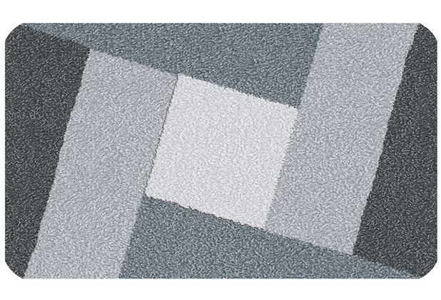 Kleine Wolke Badteppich Indiana Schiefer 60 cm x 100 cm