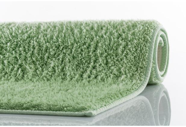 Kleine Wolke Badteppich Kansas Distel 50 cm x 50 cm WC-Vorleger mit Ausschnitt