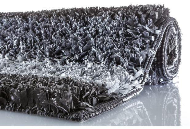 Kleine Wolke Badteppich Lounge Schiefer 60 cm x 100 cm