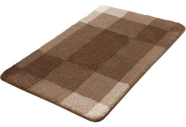 Kleine Wolke Badteppich Mix Taupe 55x 65 cm