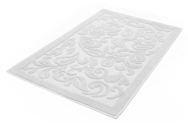 Kleine Wolke Badteppich Newport Silbergrau 60 cm x 100 cm