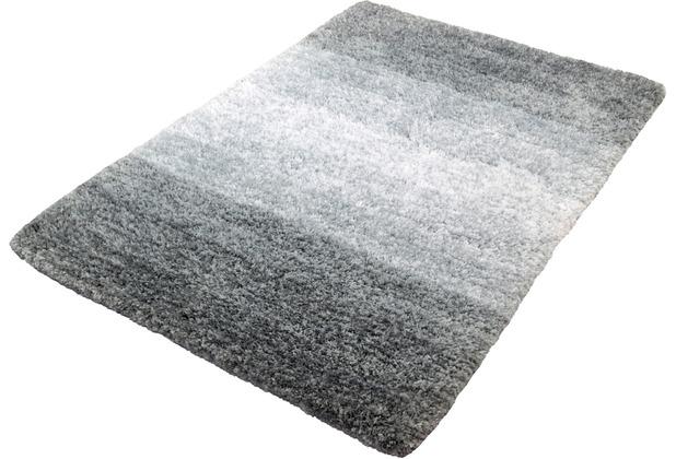 Kleine Wolke Badteppich Oslo Platin 60 cm x 60 cm