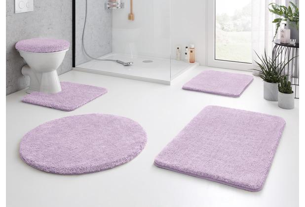 Kleine Wolke Badteppich Relax Crocus 47x 50 cm Deckelbezug