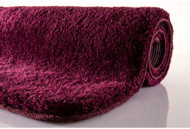 Kleine Wolke Badteppich Relax Purple 55x 65 cm
