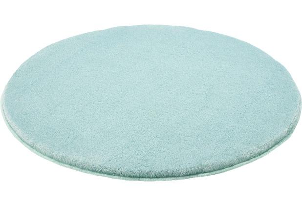 Kleine Wolke Badteppich Relax Salbeigrün Wunschmaß rund/oval