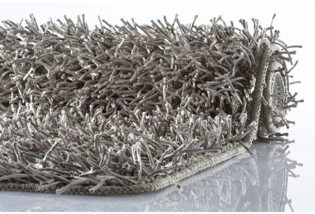 Kleine Wolke Badteppich Riva Silbergrau 60 cm x 100 cm