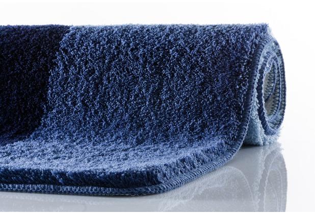 Kleine Wolke Badteppich, Seaworld, Marineblau 50 x 50 cm WC-Vorleger mit Ausschnitt