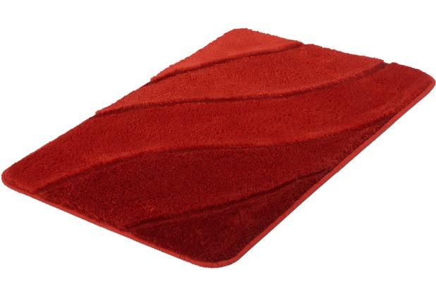 Kleine Wolke Badteppich Serenade Rubin 60 cm x 90 cm