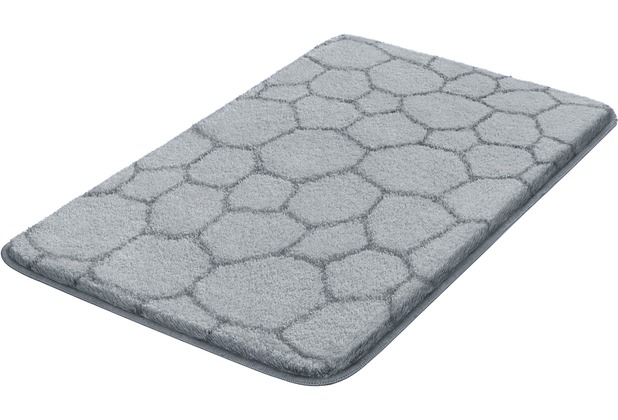 Kleine Wolke Badteppich Soapy, Nebel 50x 60 cm