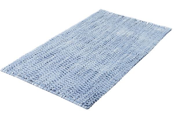 Kleine Wolke Badteppich Sway, Blau 60x 60 cm