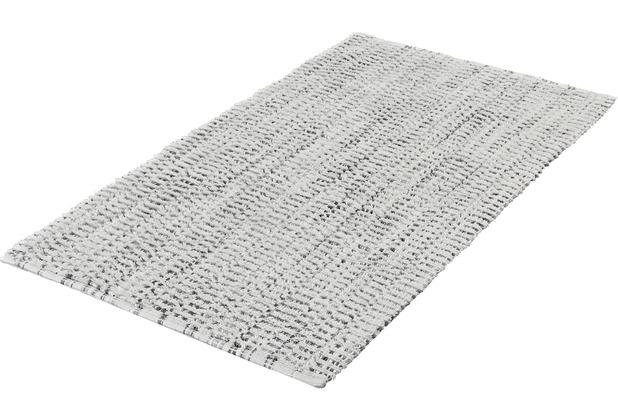 Kleine Wolke Badteppich Sway, Platin 60x 60 cm