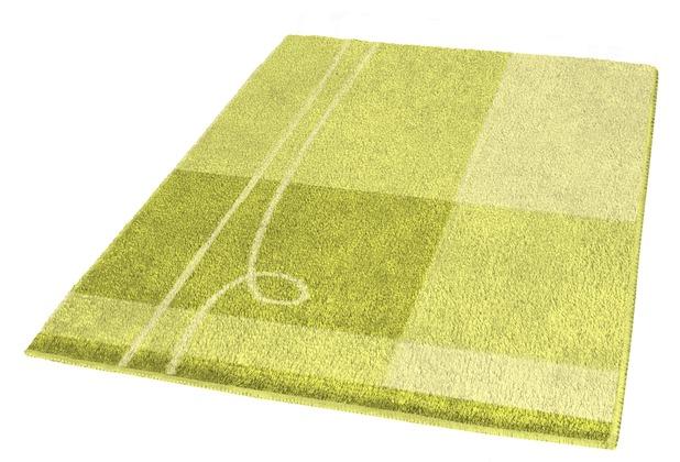 Kleine Wolke Badteppich Tivoli Zeder 50 cm x 50 cm WC-Vorleger mit Ausschnitt