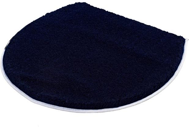 Kleine Wolke Deckelbezug Soft Dunkelblau 47 cm x 50 cm