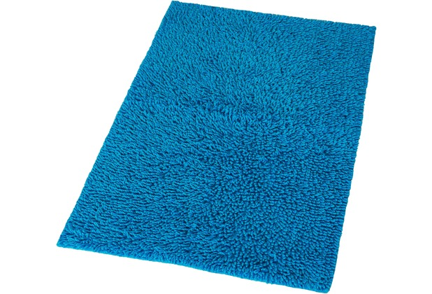 Kleine Wolke Badteppich Zagreb Himmelblau 50 cm x 60 cm