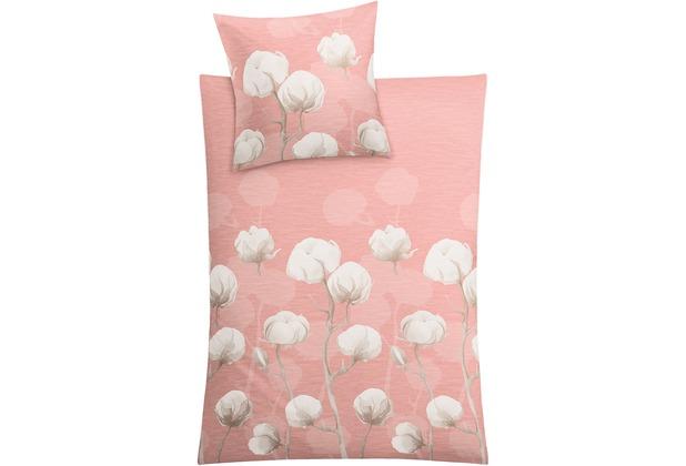 Kleine Wolke Bettwäsche Cotton rose 135 cm x 200 cm & 80 cm x 80 cm