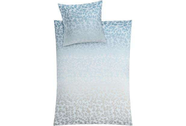 Kleine Wolke Bettwäsche Florence Polarblau 135 cm x 200 cm & 80 cm x 80 cm