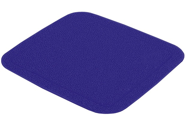 Kleine Wolke Duscheinlage Java-Plus, Royalblau 55 x 55 cm