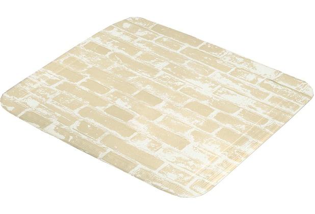 Kleine Wolke Duscheinlage Wall, Sandbeige Duscheinlage 55x 55 cm