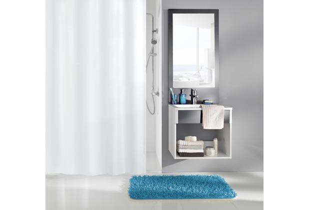 Kleine Wolke Duschvorhang Caravelle Weiß 240 x 200 cm (Breite x Höhe)