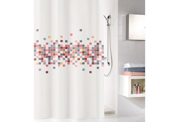 Kleine Wolke Duschvorhang Cora Multicolor 180 x 200 cm (Breite x Höhe)