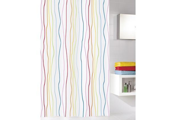 Kleine Wolke Duschvorhang Jolie Multicolor 180 x 200 cm (Breite x Höhe)