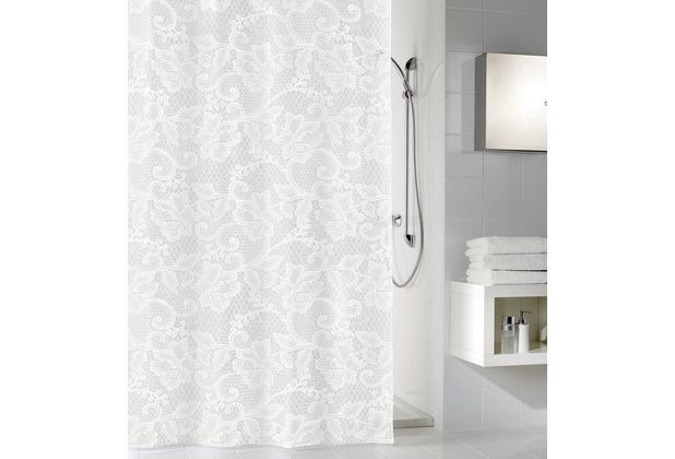 kleine wolke duschvorhang spitze weiss 180 x 200 cm. Black Bedroom Furniture Sets. Home Design Ideas
