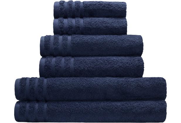 Kleine Wolke Handtuch Royal, Atlantikblau 50 x 100 cm
