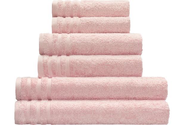 Kleine Wolke Handtuch Royal, Magnolie 50 x 100 cm Handtuch
