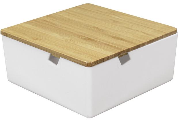 Kleine Wolke Kosmetikbox Timber Box weiß S